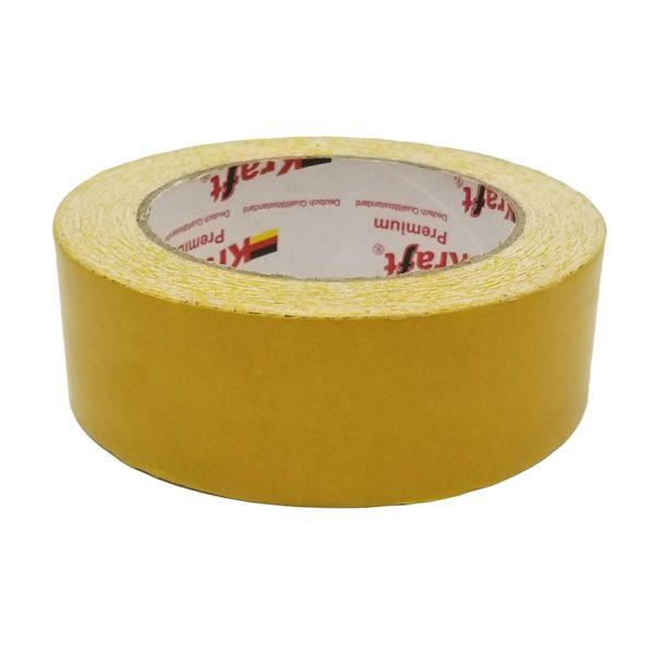 Скотч двусторонний 50 мм ткань (25 м)