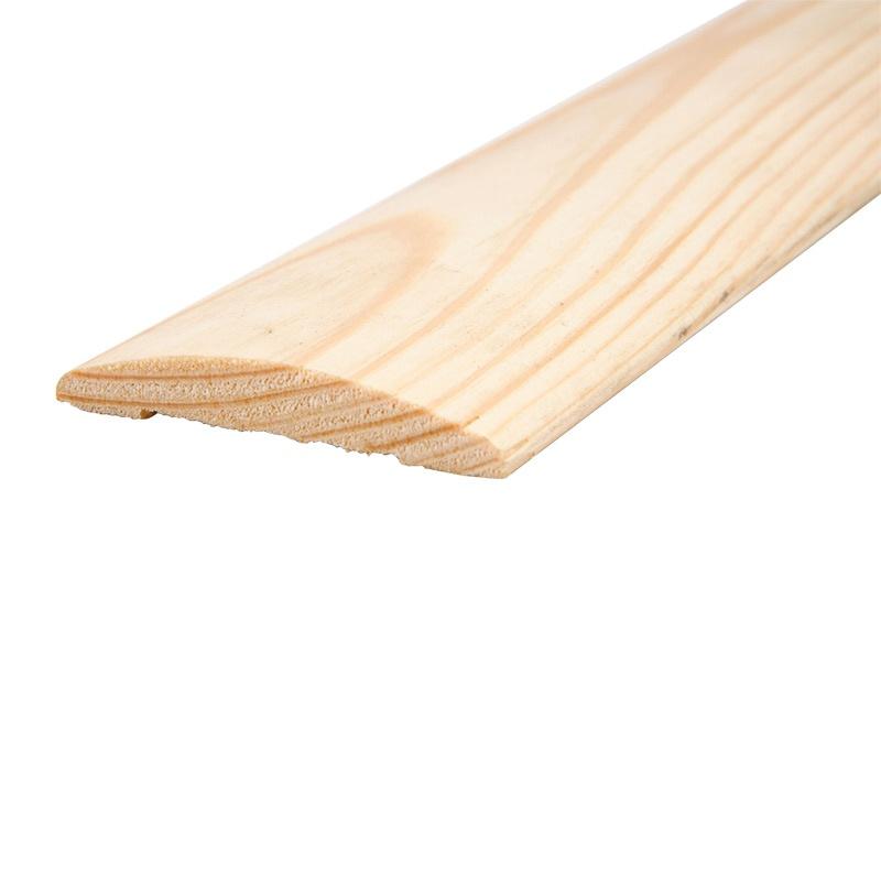 Наличник деревянный полукруглый, клееный, 70x2200 мм