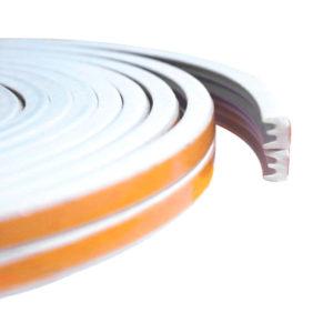 Уплотнитель тип Е белый, 2x75 м
