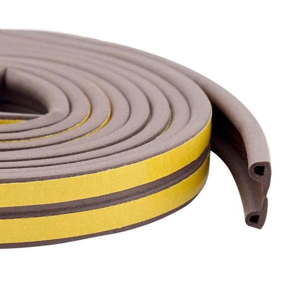 Уплотнитель тип P коричневый, 2x50 м