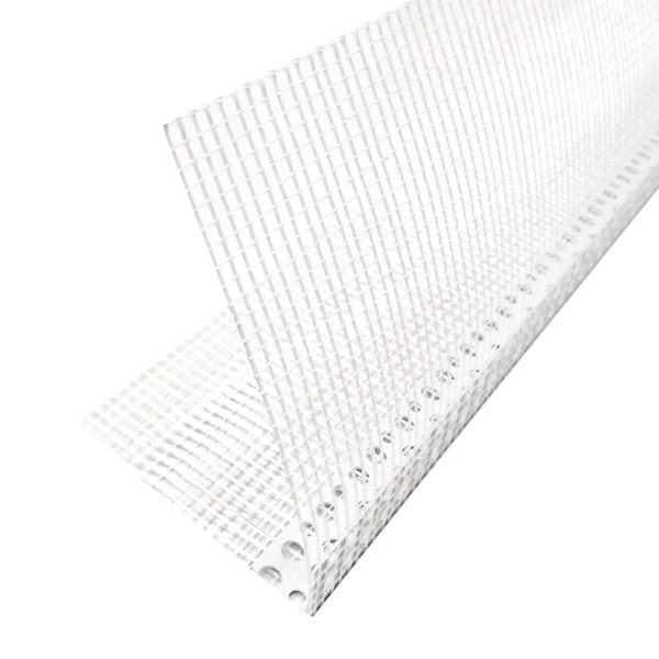 Угол ПВХ с сеткой 100x150 мм для фасадных работ (2,5 м)
