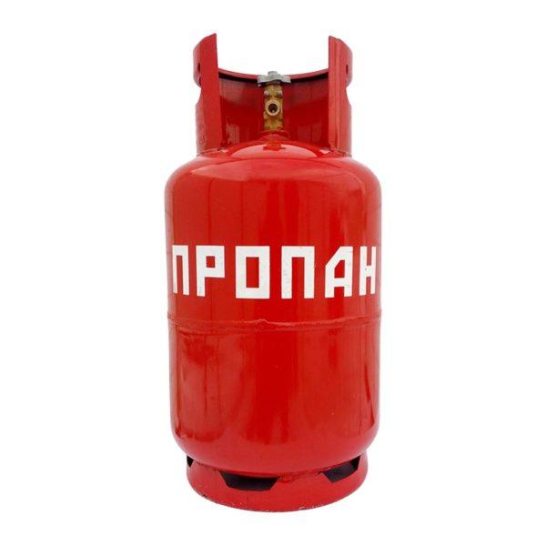 Баллон пропановый для сжиженного газа вентильный (12 л)