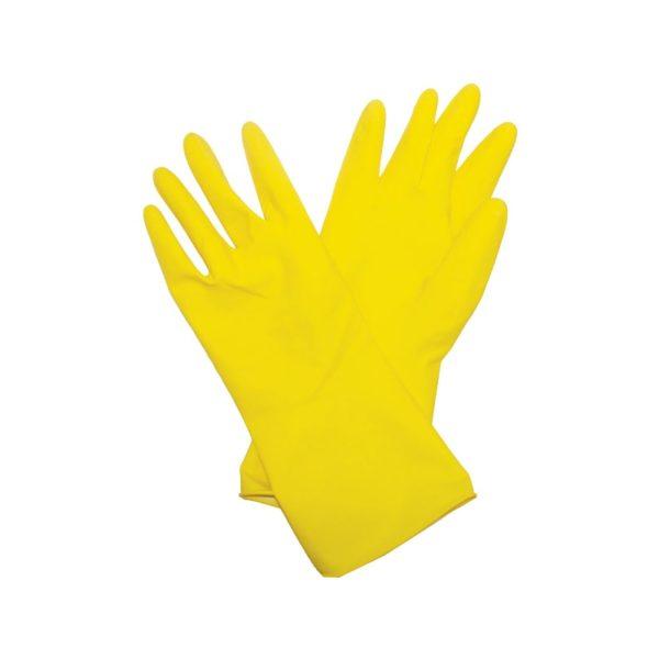 Перчатки латексные Biber 96273 с х/б напылением, размер L