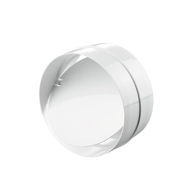 Соединитель для круглых каналов 2121 d=125 мм с обр. клапаном