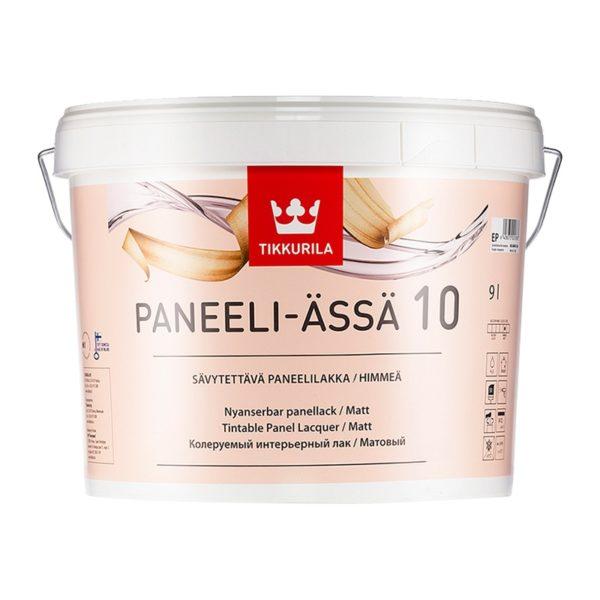 Лак для стен и потолков Panelli-Assa 10 матовый (9 л)