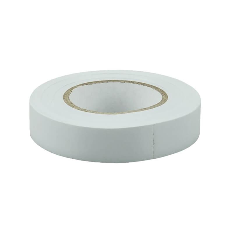 Изолента ПВХ 15 мм белый (20 м)