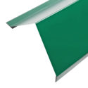 Планка карнизная для металлочерепицы (RAL 6005) зеленый мох (2 м)