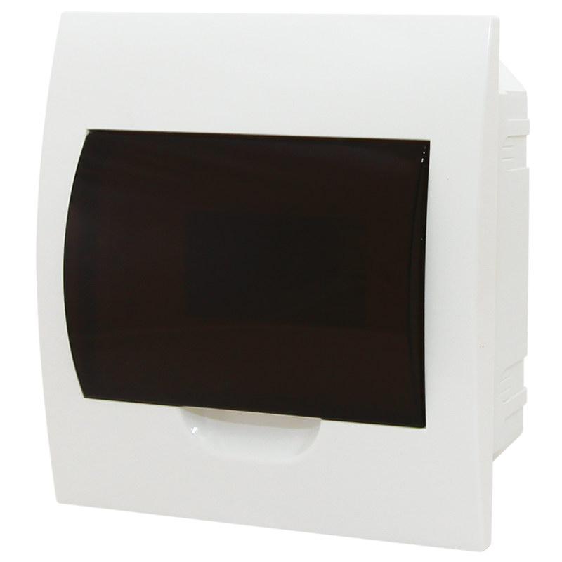 Щит распределительный встраиваемый 8 мод. ЩРВ-П-8 c DIN-рейкой, IP41