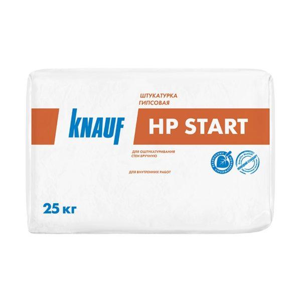 Штукатурка гипсовая Кнауф HP-Start, 25 кг