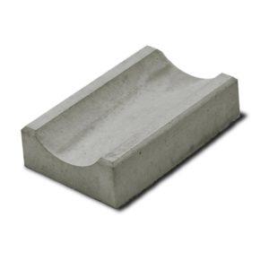 Водосток 500x160х50 мм бетон серый
