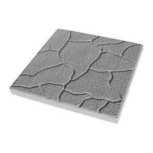 Тротуарная плитка Тучка 300x300 мм серая
