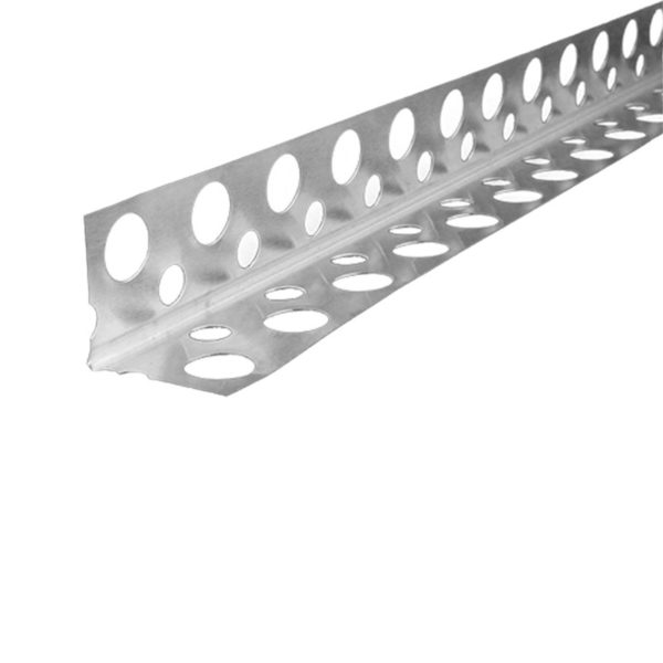 Профиль углозащитный оцинкованный тянутый 20x20мм, 3 м