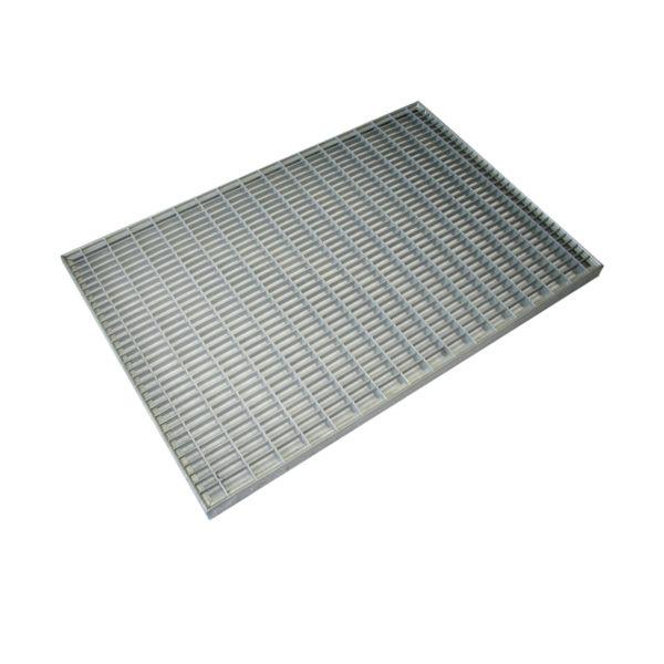 Решетка для поддона придверного Standartpark, 590x390 мм, стальная