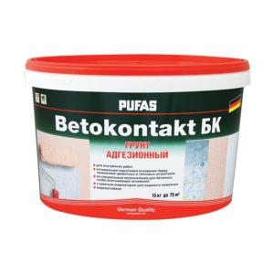 Грунтовка Бетоконтакт БК для внутренних работ (15 кг)