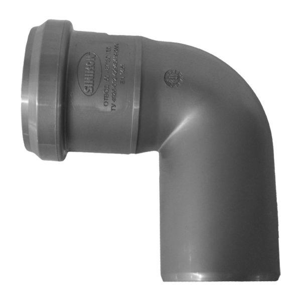Отвод внутренний Sinikon d=50 мм 87°