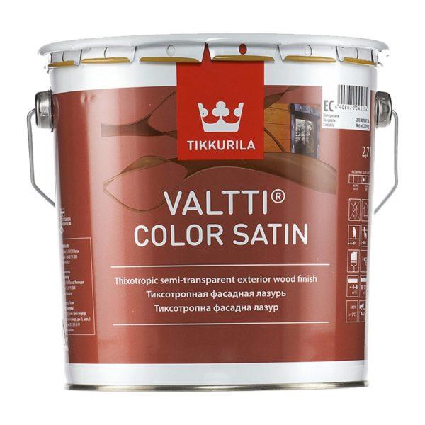 Антисептик Valtti Color Satin EC лессирующий (2,7 л)