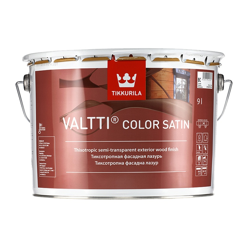 Антисептик Valtti Color Satin EC лессирующий (9 л)