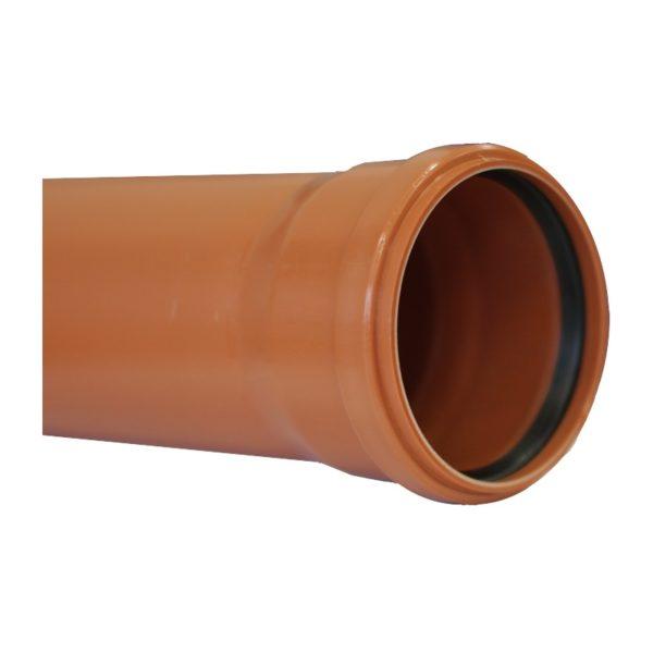 Труба канализационная наружная SN4 d=110х3,4х1000 мм