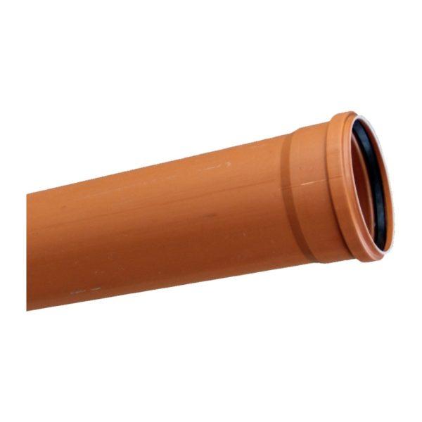 Труба канализационная наружная SN4 d=160х4,2х3000 мм