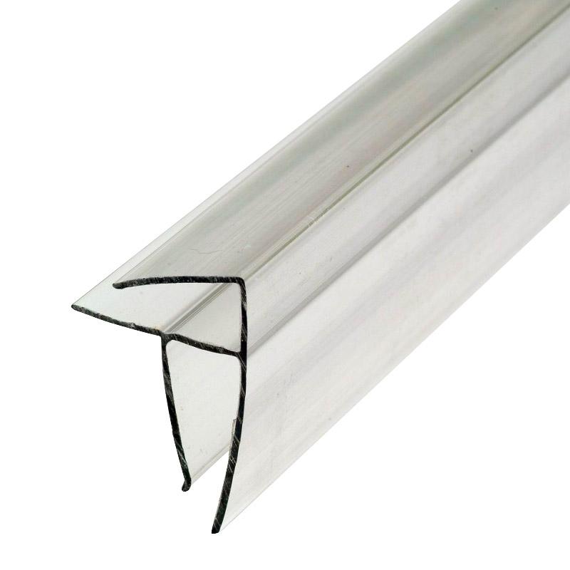 Профиль угловой для поликарбоната 4-6x6000 мм б/цв.