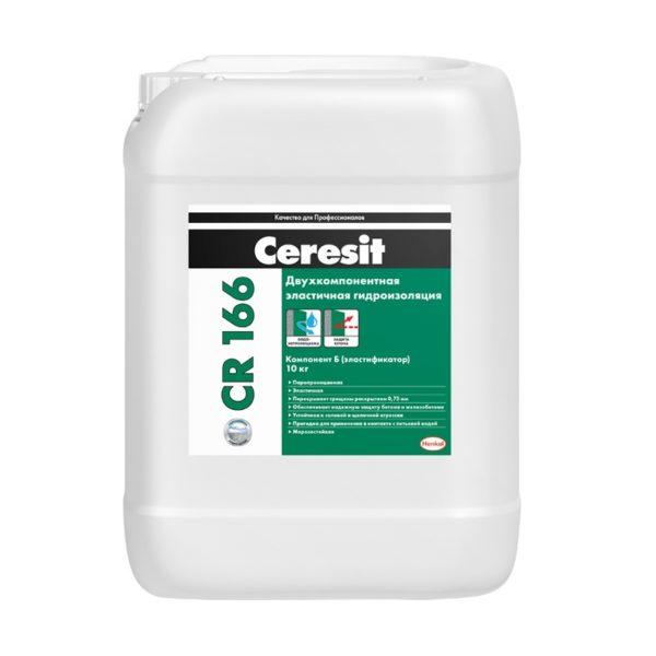 Эластичная гидроизоляционная масса Церезит CR166 Комп.В, 10 кг
