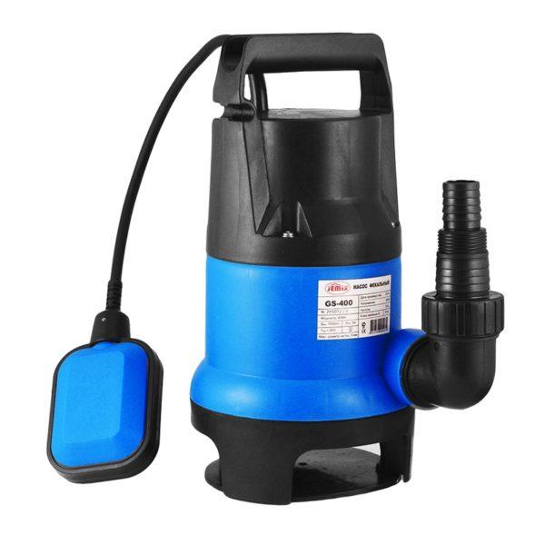 Фекальный насос JEMIX GS-400, корпус пластик, напор 5 м, 7,5 м3/час