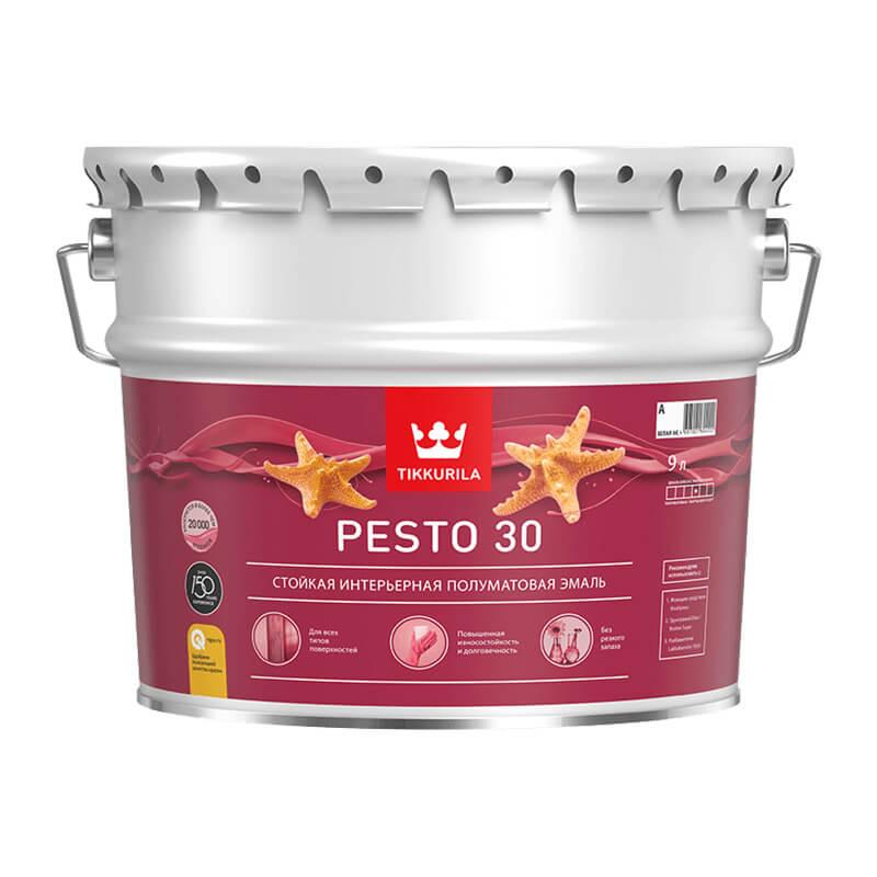Краска алкидная универсальная Pesto 30 A полуматовая (9 л)