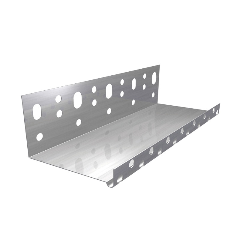 Профиль цокольный алюминиевый 100 мм L=2,5 м
