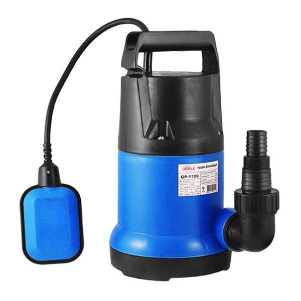 Дренажный насос JEMIX GP-750, Корпус пластик, напор 9 м, 11 м3/час