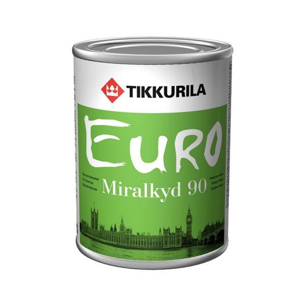 Эмаль алкидная универсальная EURO Miralkyd 90 C (0,9 л)