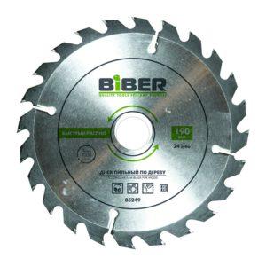 Диск пильный Biber 85253 210х32-30-25-20-16 z24, быстрый рез