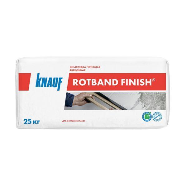 Шпаклевка гипсовая финишная Кнауф Ротбанд Финиш, 25 кг