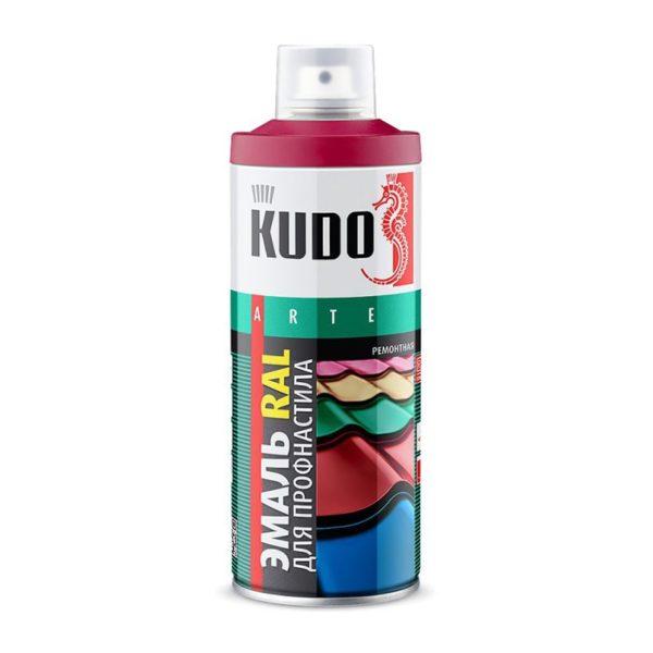 Эмаль аэрозольная KU-03005R RAL 3005 винно-красный (0,52 л)
