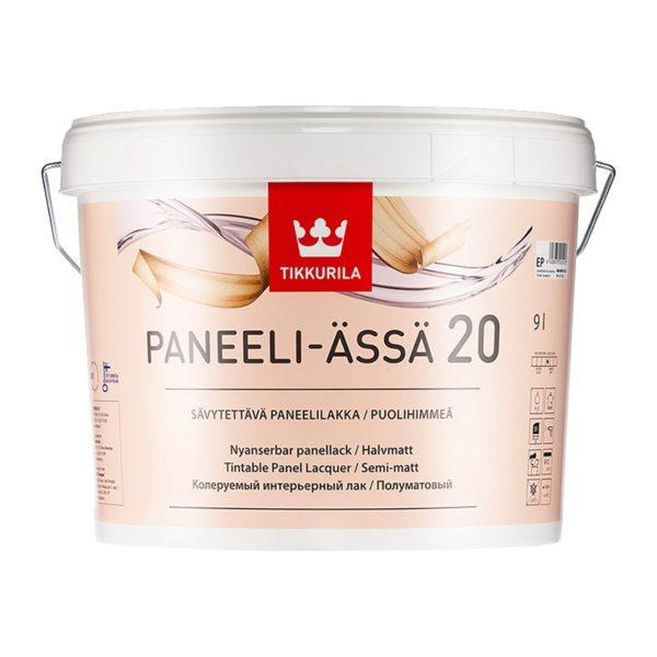 Лак для стен и потолков Panelli-Assa 20 полуматовый (9 л)
