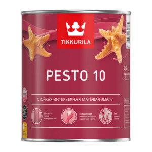 Краска алкидная универсальная Pesto 10 A матовая (0,9 л)