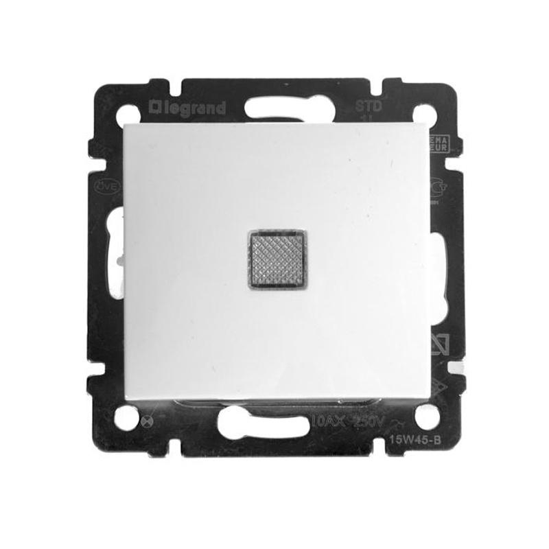Выключатель в рамку с/у Legrand Valena 694261, 1 клавиша, 10А, 230В, IP20, белый