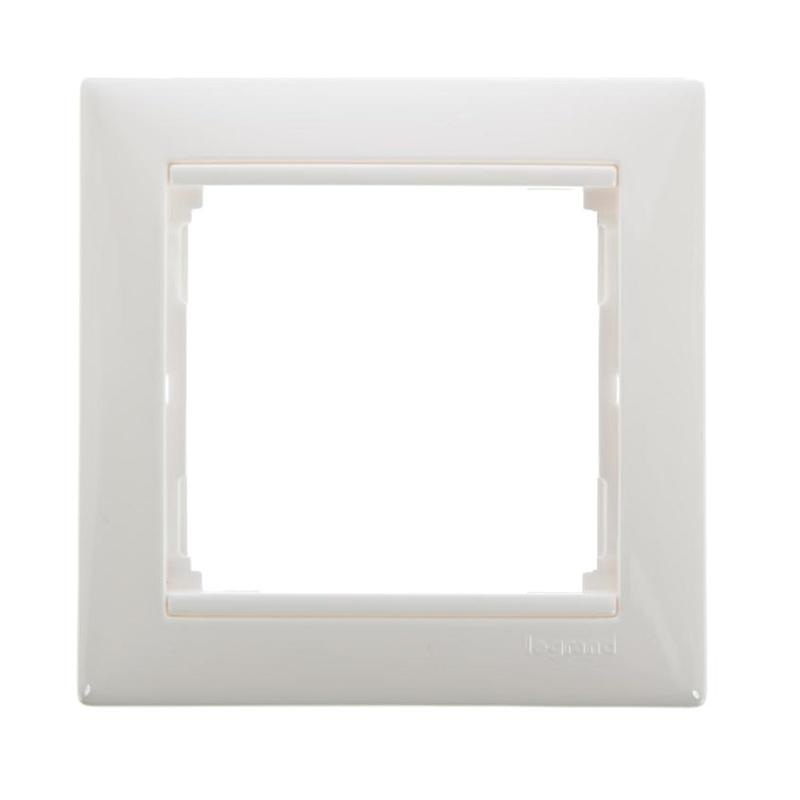 Рамка 1-постовая горизонтальная Legrand Valena 694240 IP20, белая