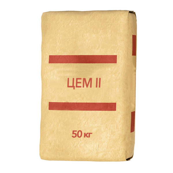 Цемент ЦЕМ II/A-Ш 32,5Н, М-400, Д20, 50 кг