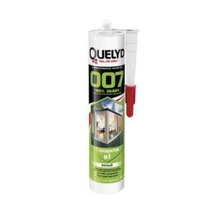 Клей герметик Quelyd 007 белый (290 мл)