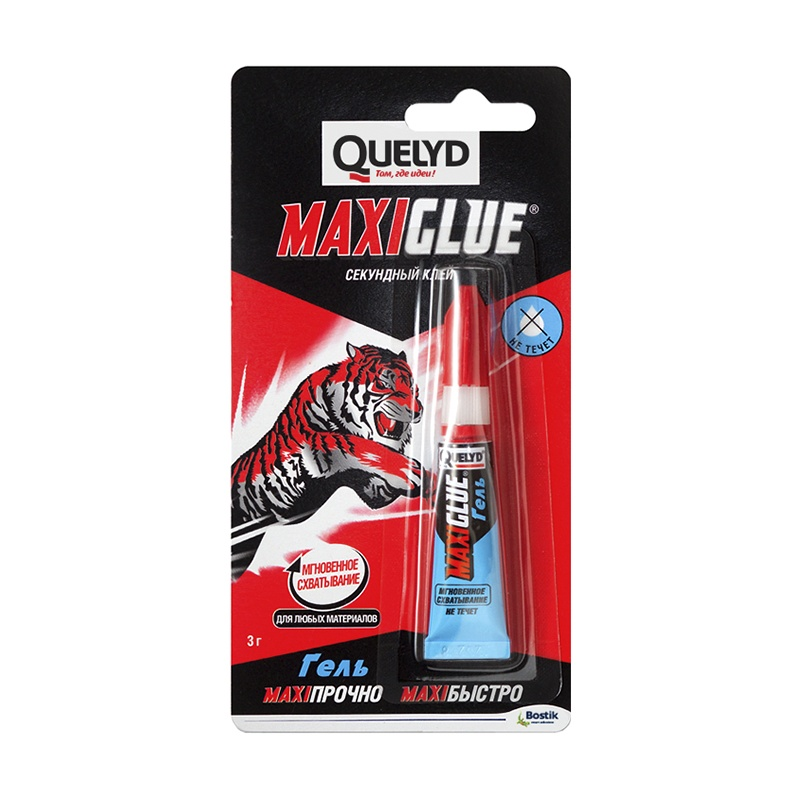 Клей секундный Quelyd Maxi glue (3 г)