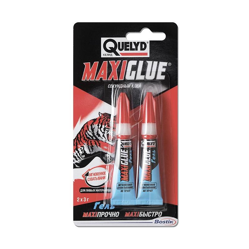 Клей секундный Quelyd Maxi glue упаковка 2шт. (3 г)