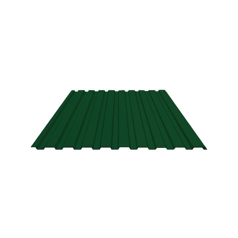 Профнастил С-20 (RAL 6005) зеленый мох 1150x2000x0,4 мм (2,3 м2)
