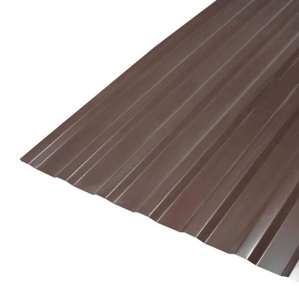 Профнастил С-20 (RAL 8017) корич. шоколад 1150x2000x0,4 мм (2,3 м2)
