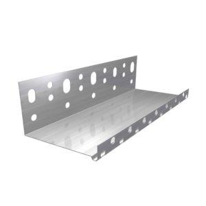 Профиль цокольный алюминиевый 50 мм L=2,5 м