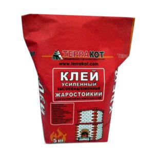 Клей для печной плитки жаростойкий Терракот, 5 кг