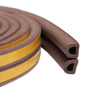 Уплотнитель тип D коричневый, сдвоенный, 1 пог.м