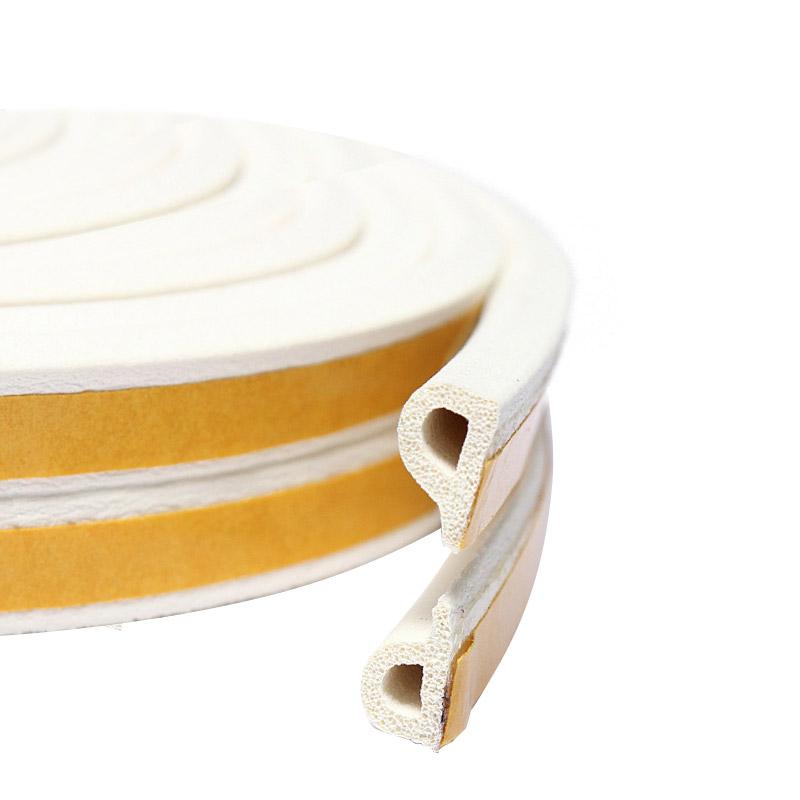 Уплотнитель тип P белый, сдвоенный, 1 пог.м