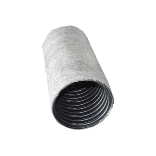 Труба дренажная гофрированная 160 мм, с перфорацией в фильтре (1 м.п.)