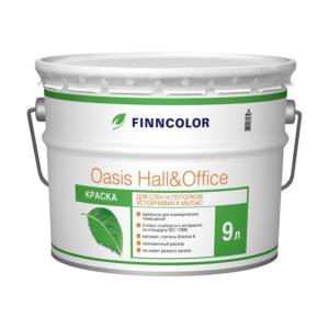 Краска в/д Oasis Hall&Office 4 база А (9 л)