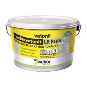 Шпаклевка готовая суперфинишная LR pasta (20 кг)
